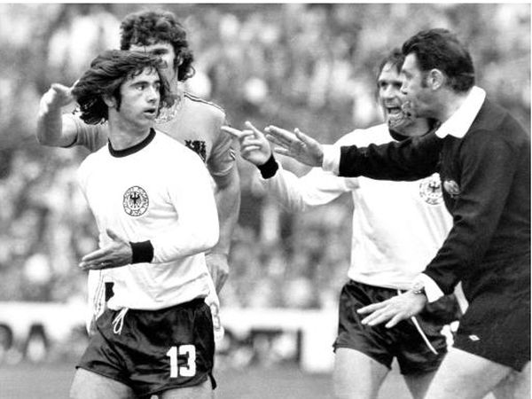 Jack Taylor refereed the 1974 World Cup Final as West Germany beat the Netherlands