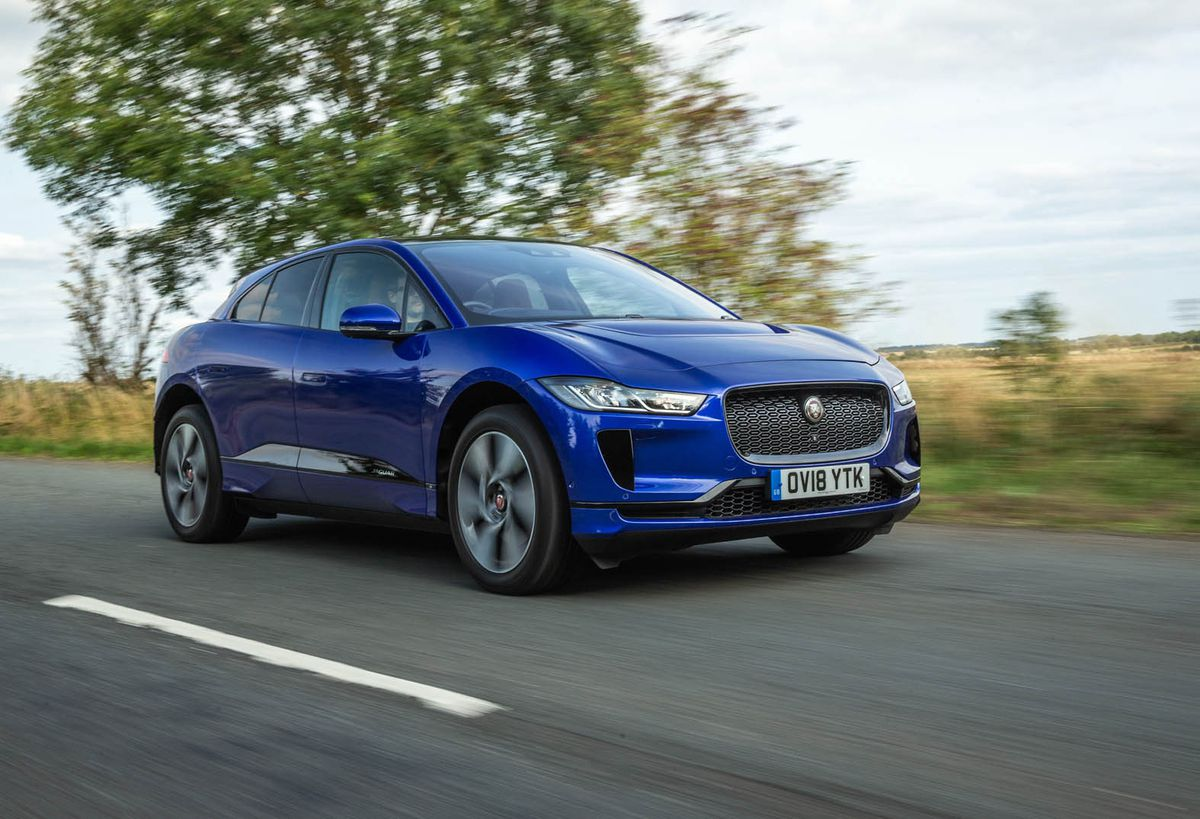 Sales of the Jaguar I-Pace picked up in December