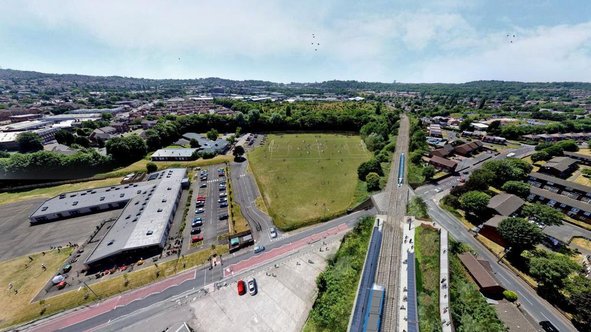 Works will take place to install a new bridge on Coneygree Road, Tipton next month