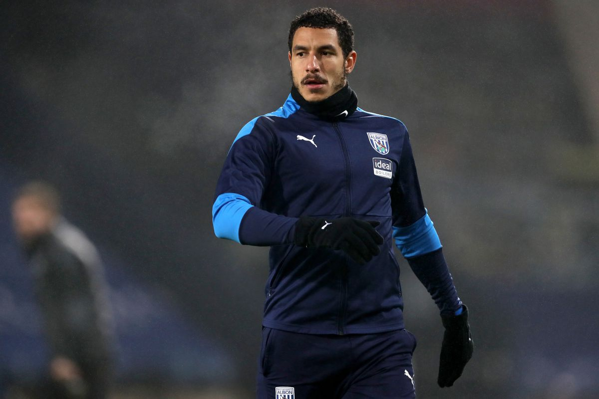 Jake Livermore of West Bromwich Albion during the pre-match warm up (AMA)