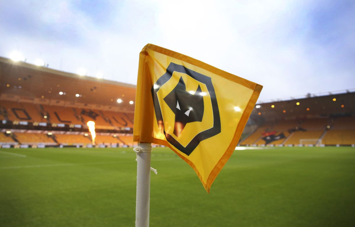 A general view of the corner flag at Molineux Stadium (AMA)