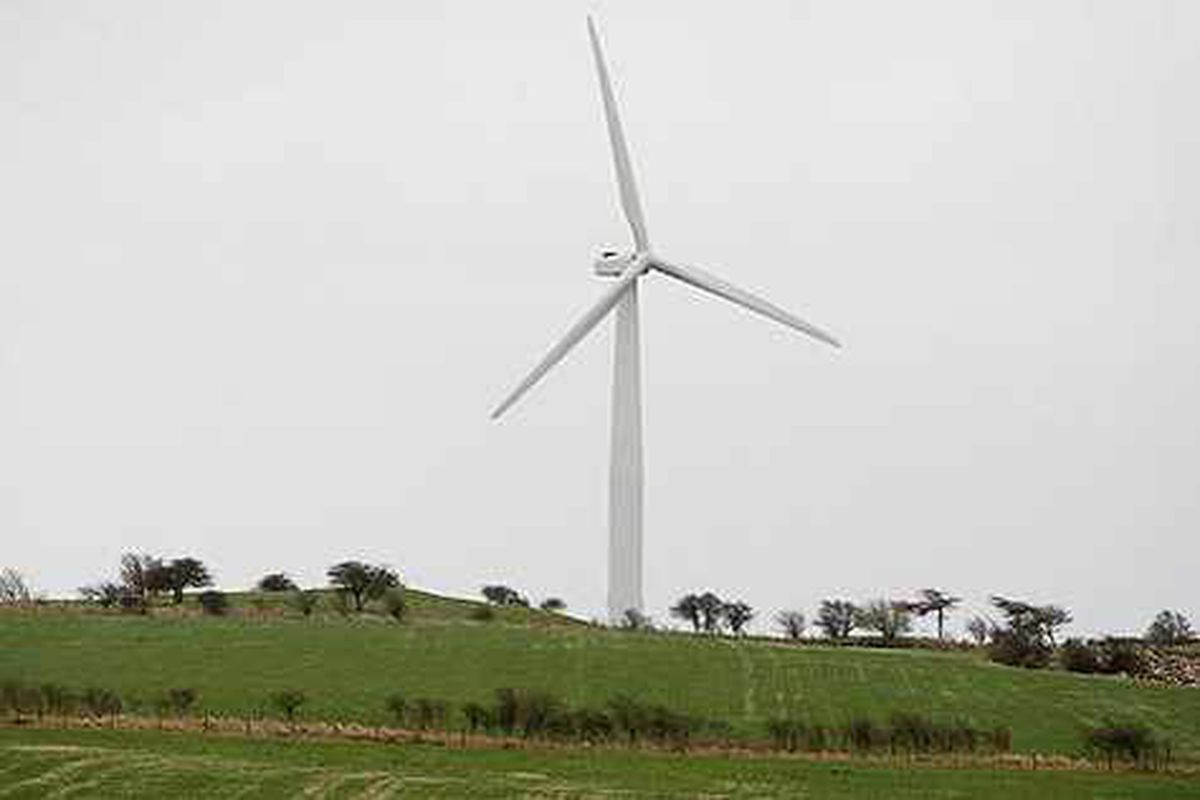 Huge wind turbine plan is blown out