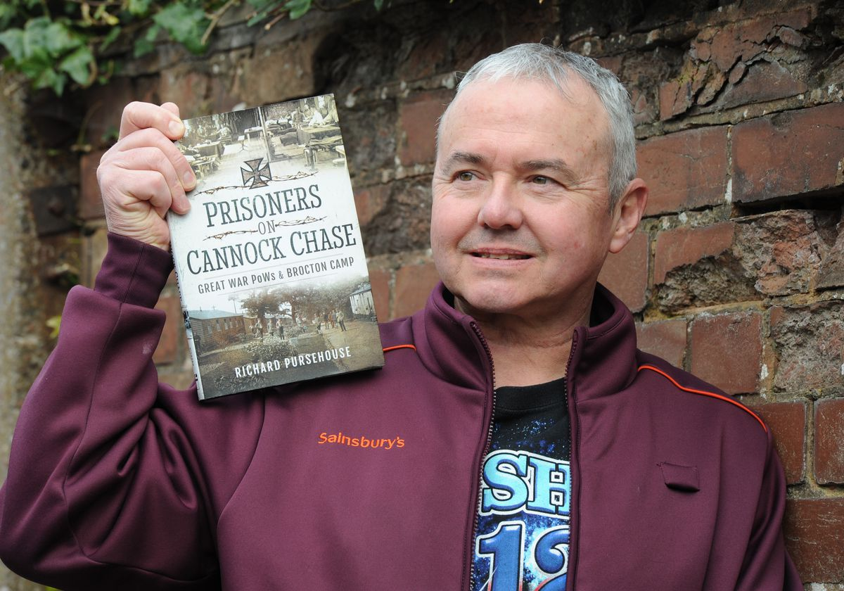 Richard Pursehouse and his new book