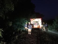 Firefighters battle deliberate woodland blaze in Cannock