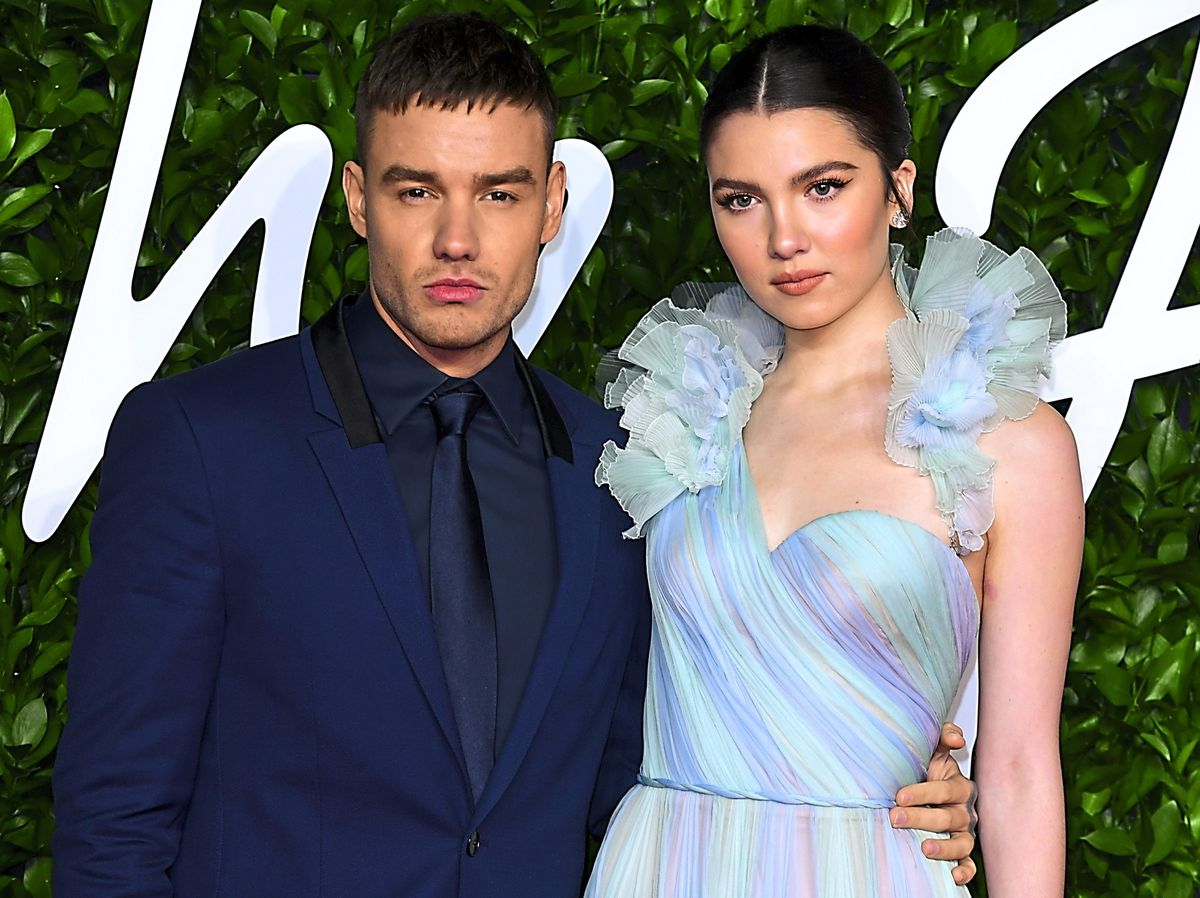 Liam Payne and fiancée Maya Henry attend the Fashion Awards at the Royal Albert Hall
