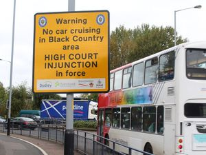 The injunction banning car cruising in the Black Country came into force in February 2015