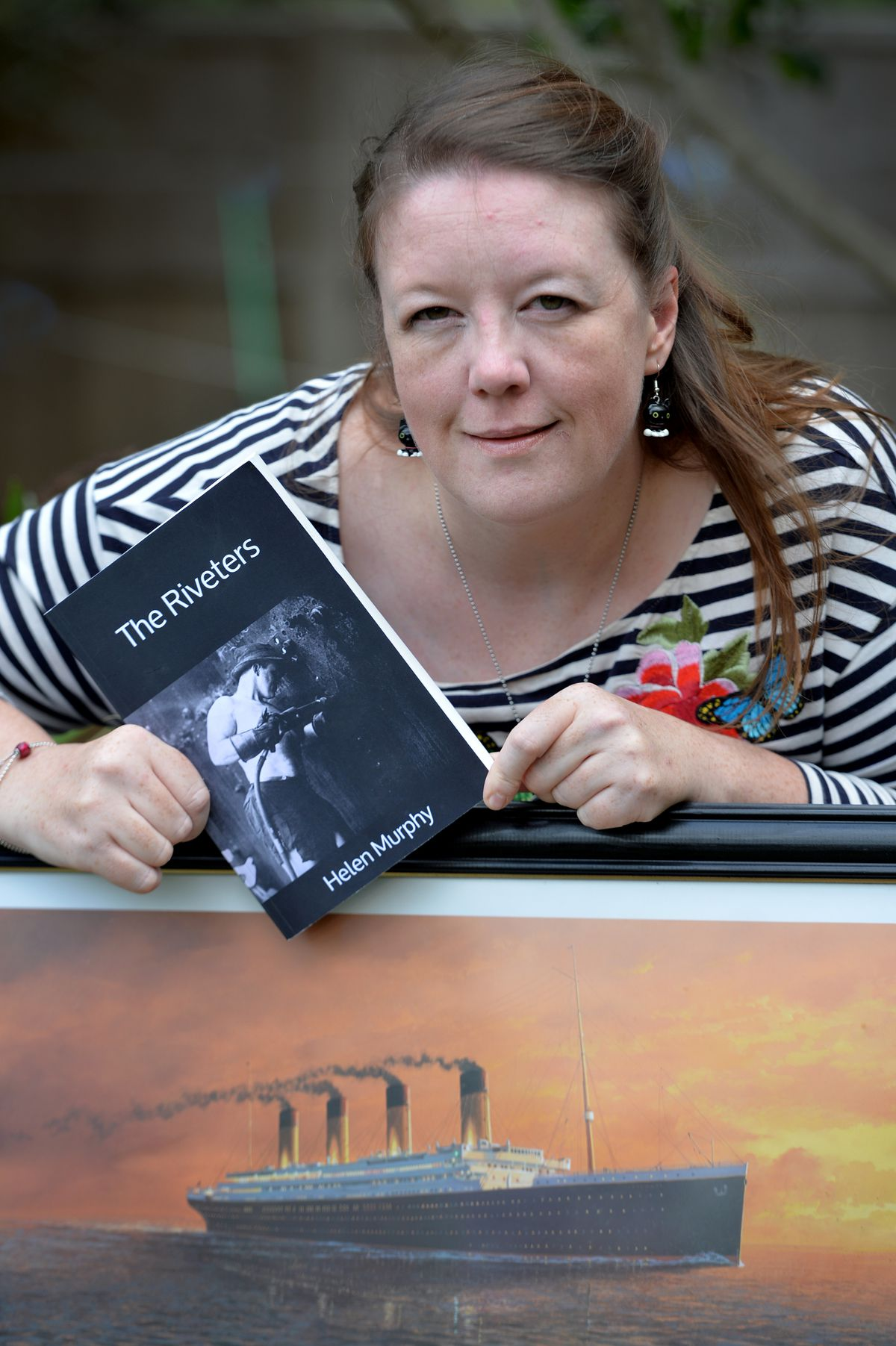 Author Helen Murphy from Wednesbury, has written a book titled The Riveters.