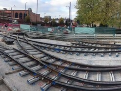 Metro extension advancing with beginnings of new junction now in place