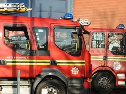 Man rescued by firefighters after bedroom blaze in Rowley Regis home