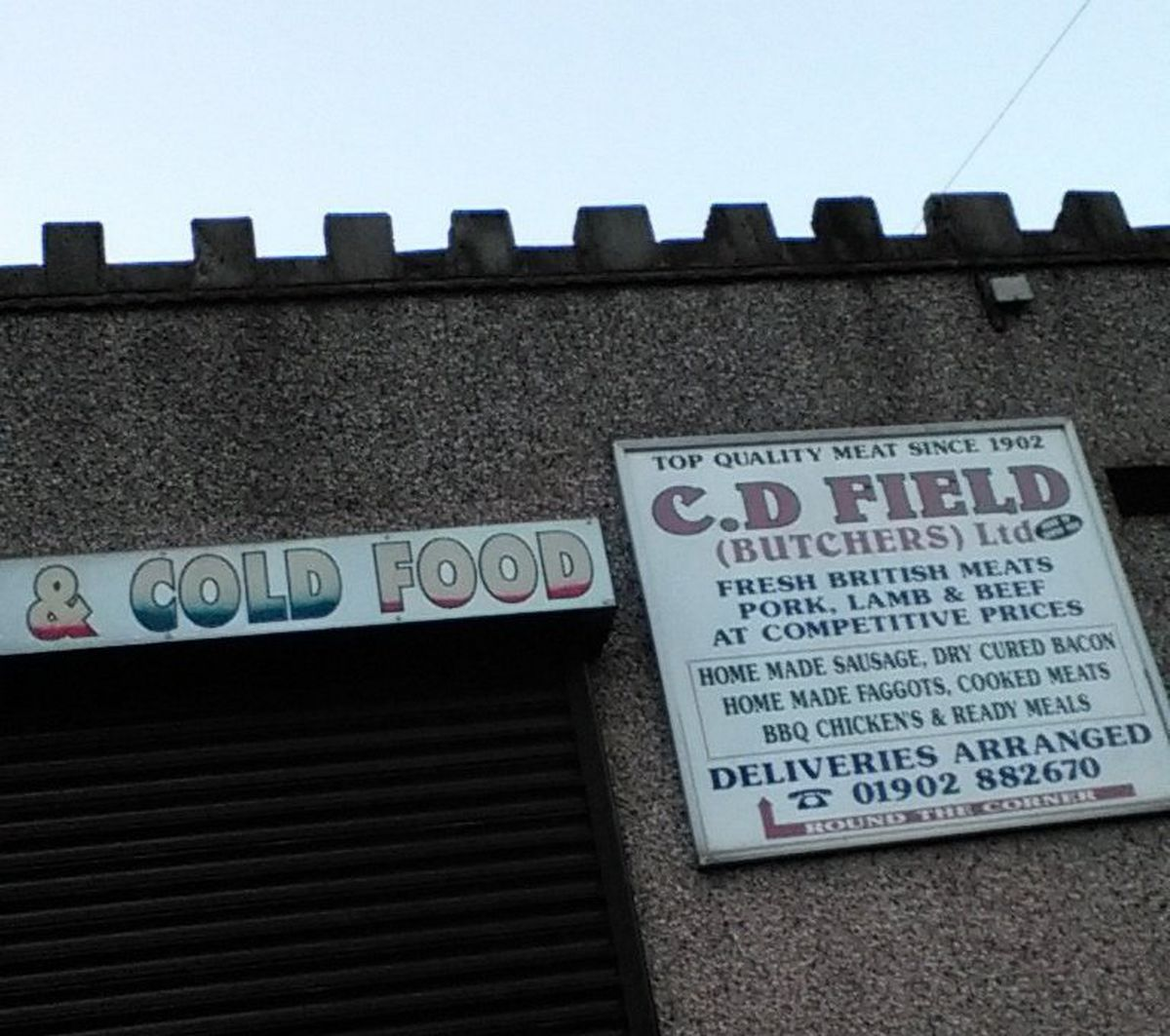 C D Field in Sedgley