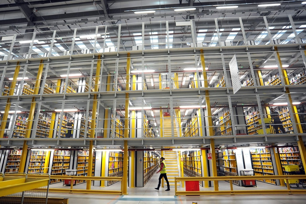 Ambulances called to Amazon warehouses 600 times in three years
