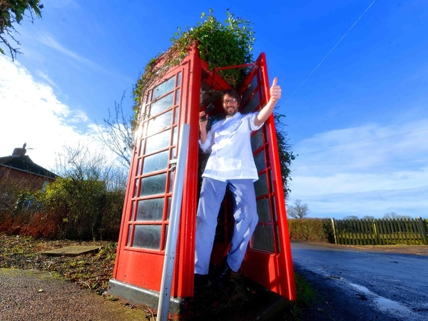 Fancy a shiny red phone box? Yours for just £1