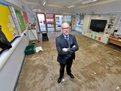 'It was frightening': Headteacher reveals damage left by Tipton flood