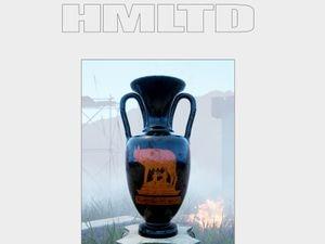 The album artwork for HMLTD's West Of Eden