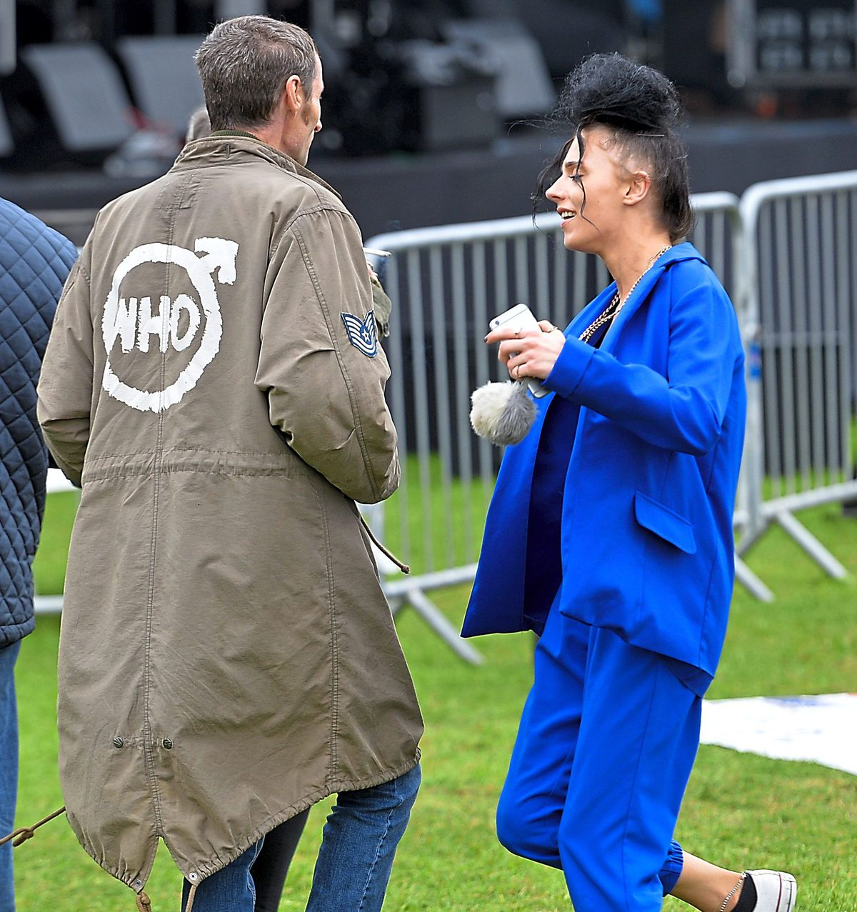 It was the perfect day out for mods young and old