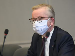 Chancellor of the Duchy of Lancaster Michael Gove attends the third meeting of the EU-UK Joint Committee in Brussels