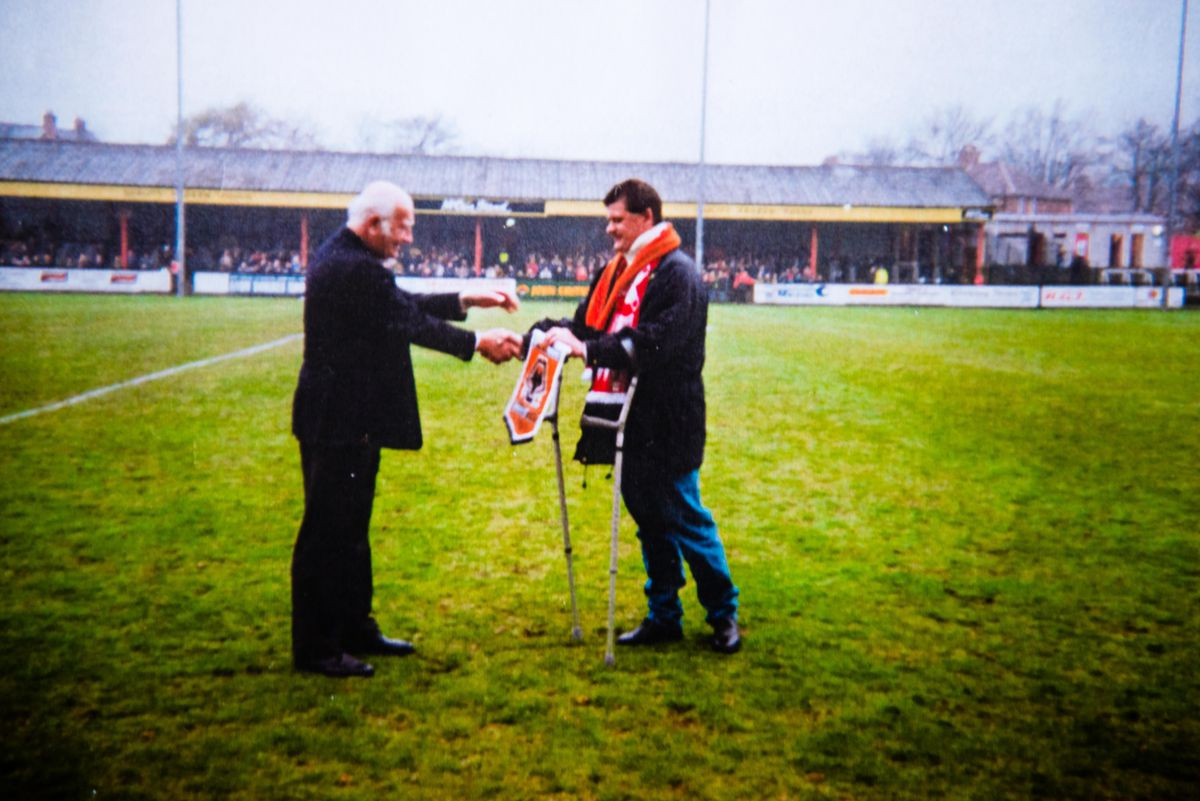 Andy returns to Scarbrough FC in 1997