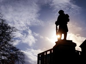 The Great War Memorial in Sutton Coldfield