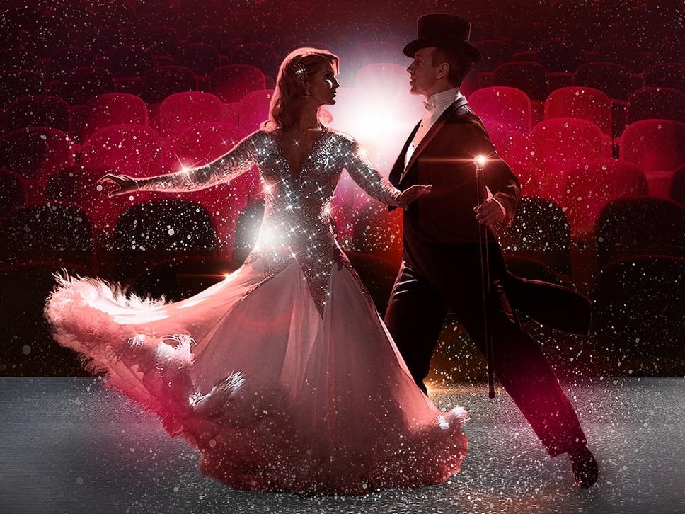 Glitz, glamour and movie magic on the dancefloor when Anton and Erin come to Wolverhampton