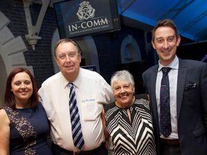 Geoff Jones with his family