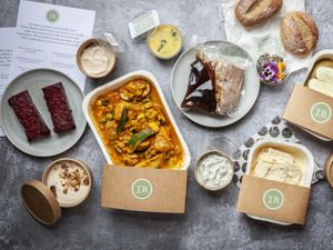 The Made In Olstead food boxes are a treasure trove of culinary delights