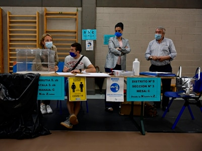 Spain holds regional elections amid coronavirus