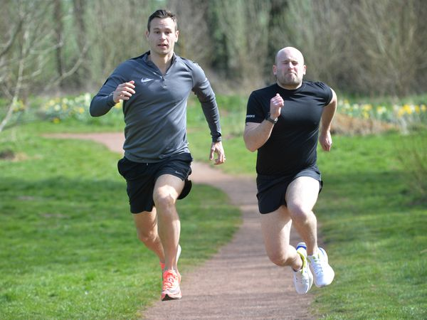 Ben Blundell and Chris Whiting are doing 14 half marathons in 14 days to raise funds for Birmingham Children's Hospital