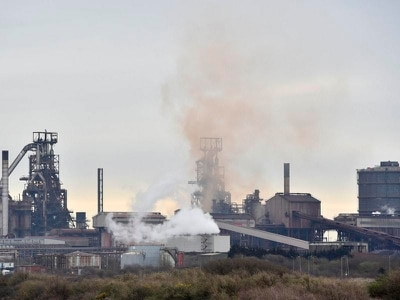 Two injured after explosion and fires at Port Talbot steelworks
