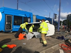 Safety review calls after third West Midlands Metro crash in four months