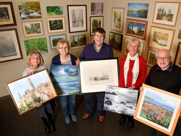 Walsall Society of Artists launch new exhibition - in pictures