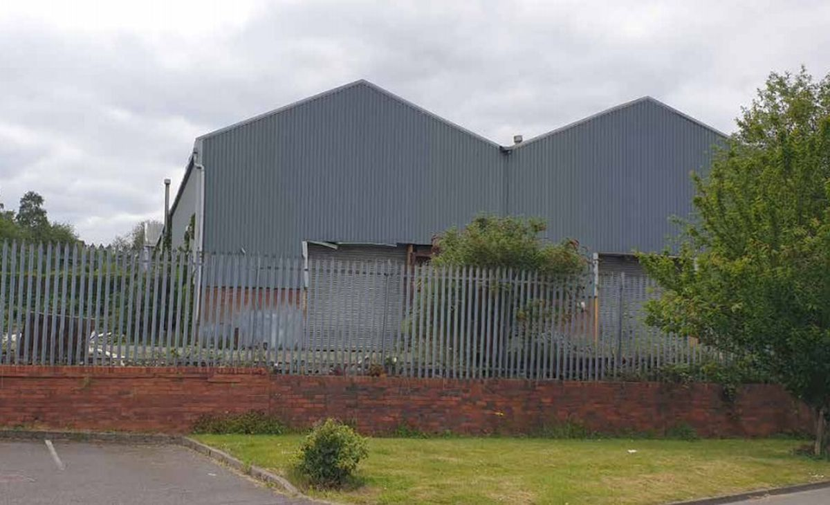 The former Jubillee Works and the William Foxall premises in Balds Lane, Lye, Stourbridge. Photo: Planit Planning and Development.