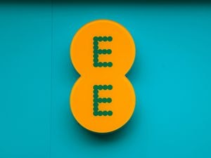 The EE logo