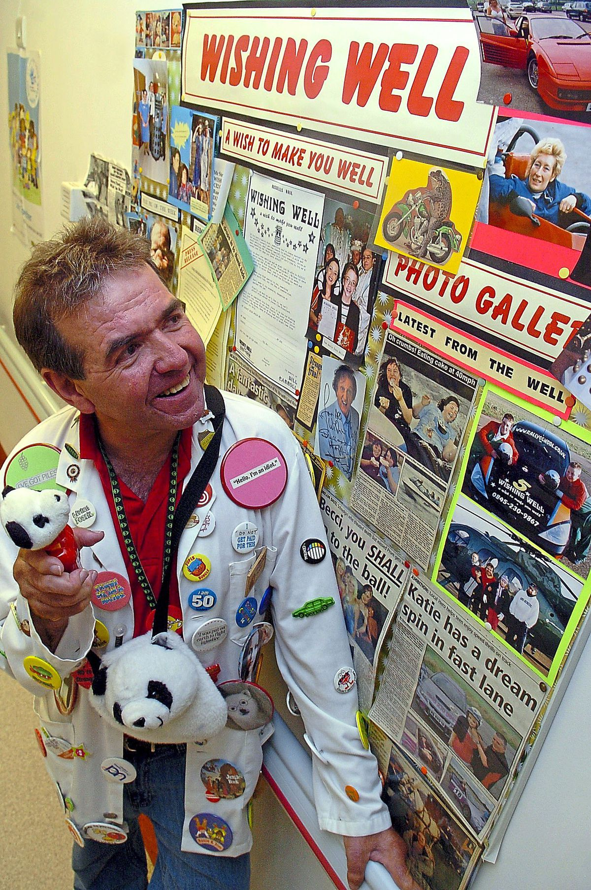 Steve Ford worked tirelessly to make dreams come true for poorly children