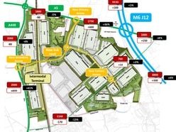 Gailey freight hub: Traffic could increase on A449 say developers