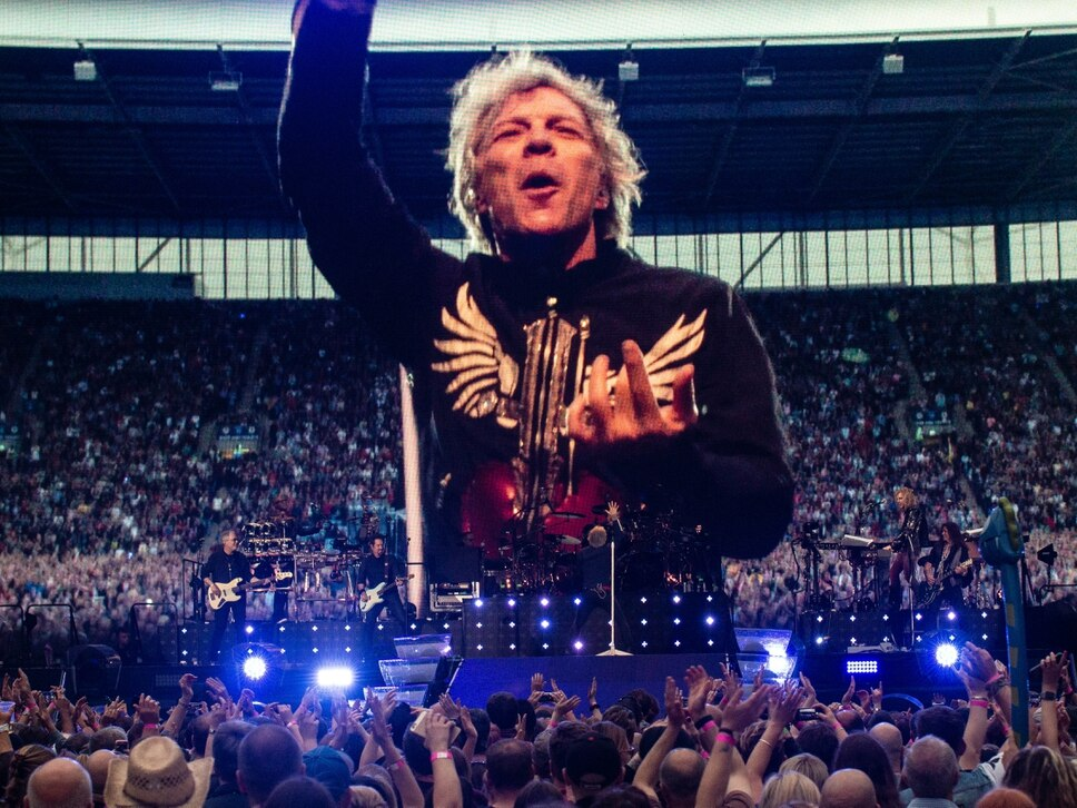 Bon Jovi, Ricoh Arena, Coventry - review with pictures