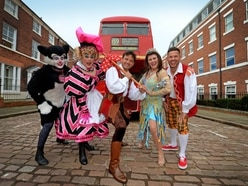 Stars take to the cobbled streets of Wolverhampton for Dick Whittington panto launch - with pictures and video