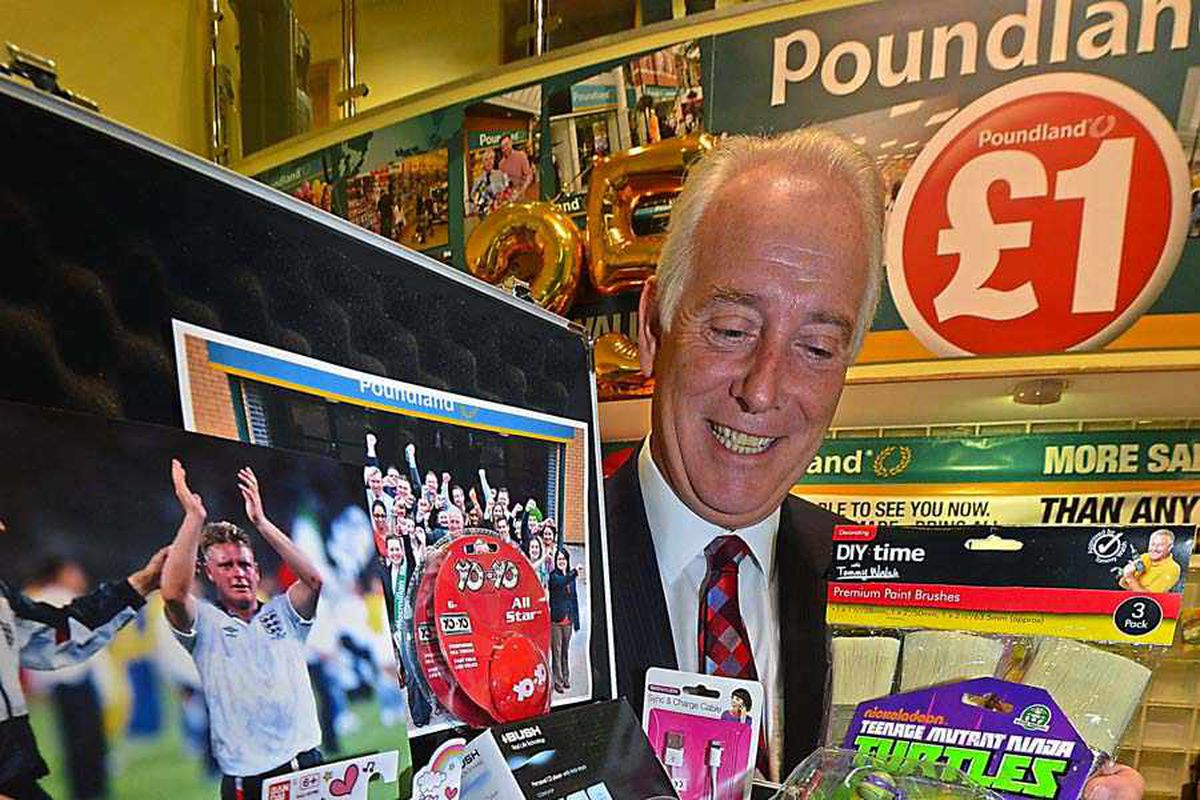 Time capsule full of bargains buried to mark 25 years of Poundland