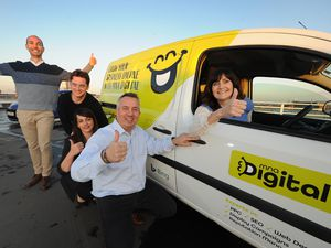 MNA Digital's exciting new branding is now being featured on our newspaper delivery vans