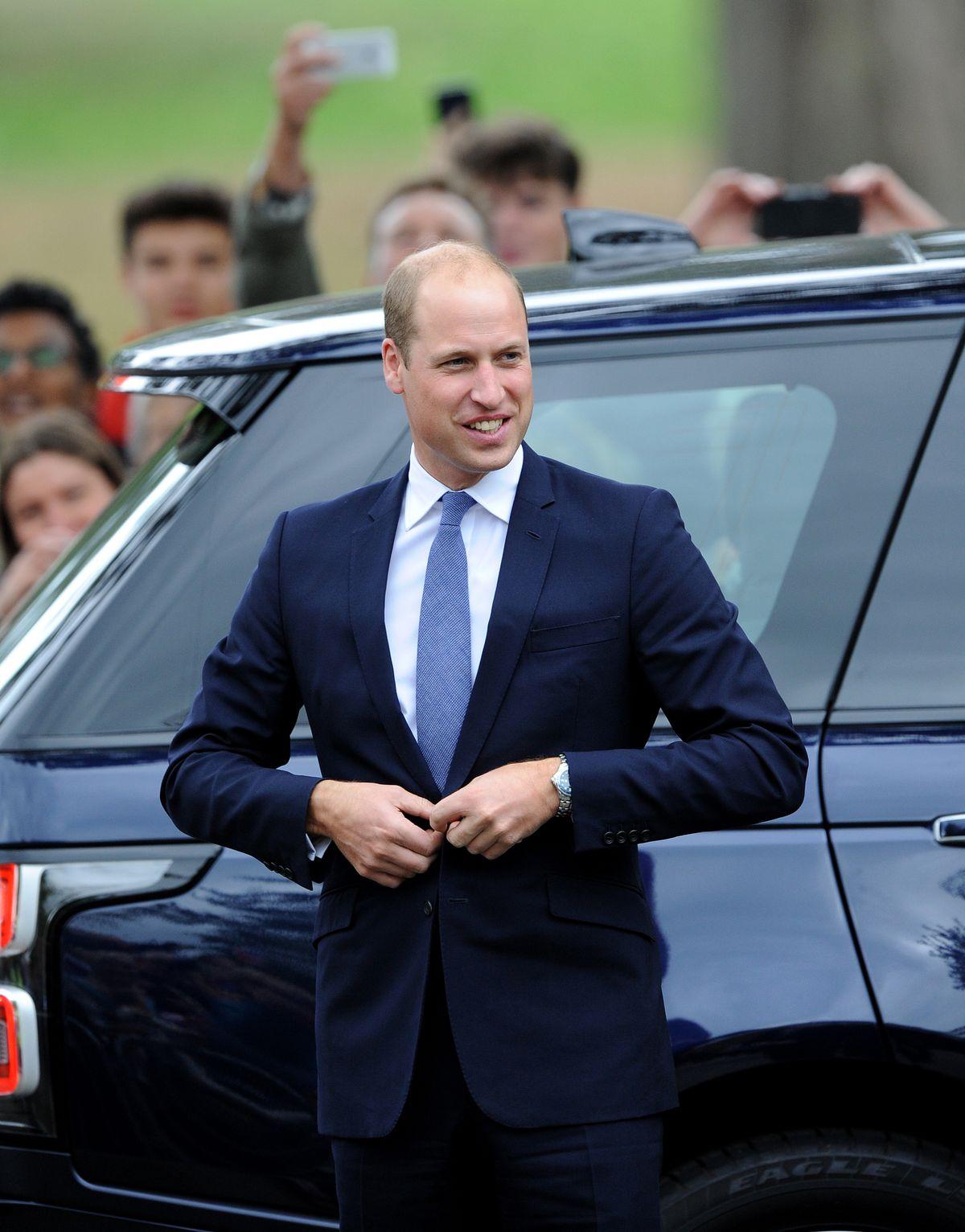 Prince William in Stourbridge