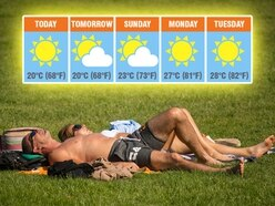 Here comes the sun! Black Country to be hotter than Ibiza as heatwave arrives