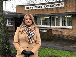Councillor Linda Leach outside Bilston Community Centre, where the new coronavirus testing centre will open. Photo: Wolverhampton City Council