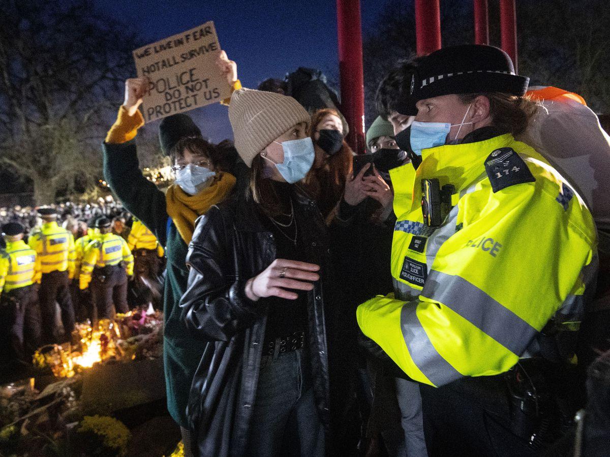 Enforcement at vigil for Sarah Everard was necessary ...