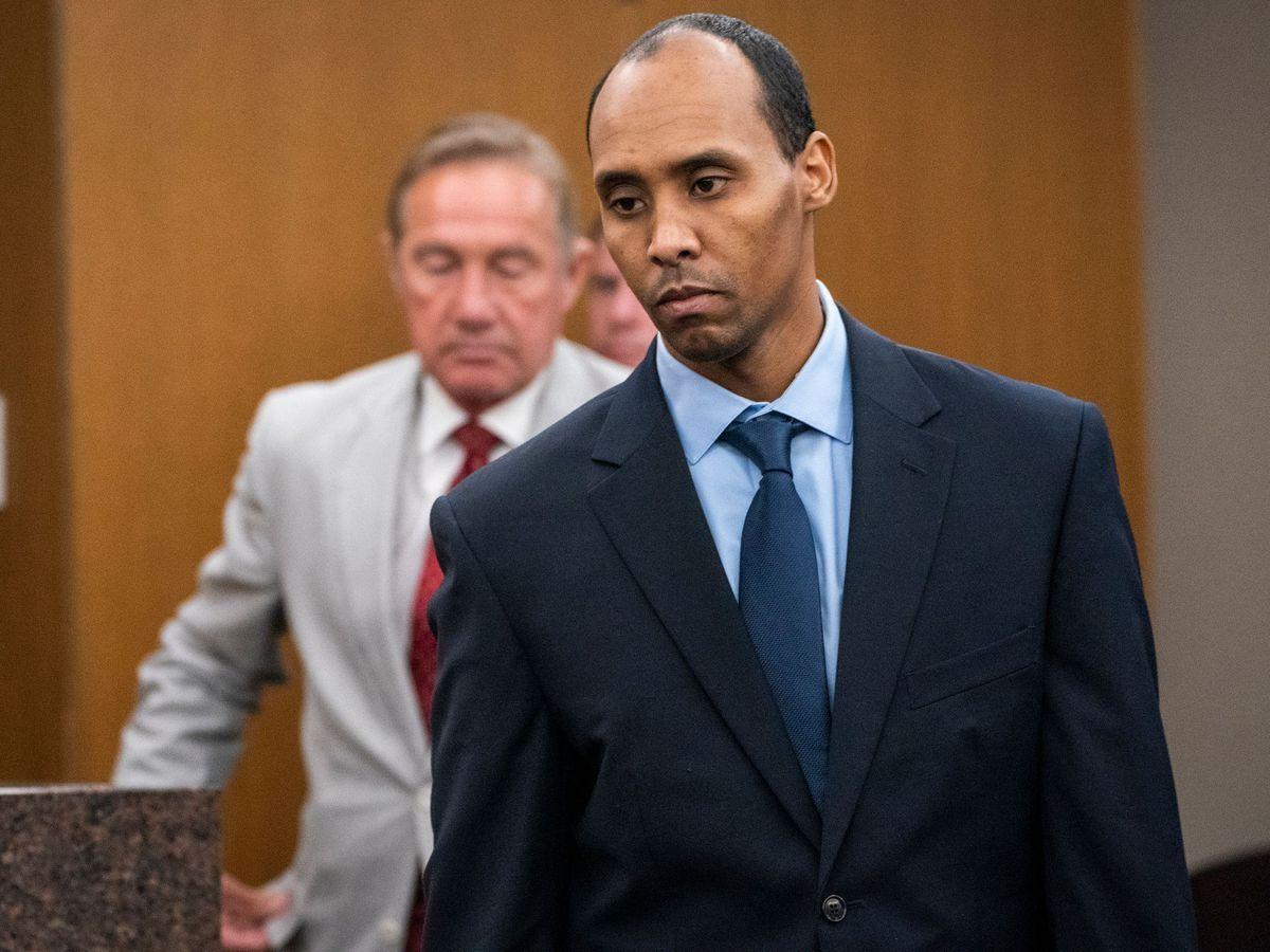 Ex-police officer Mohamed Noor in court