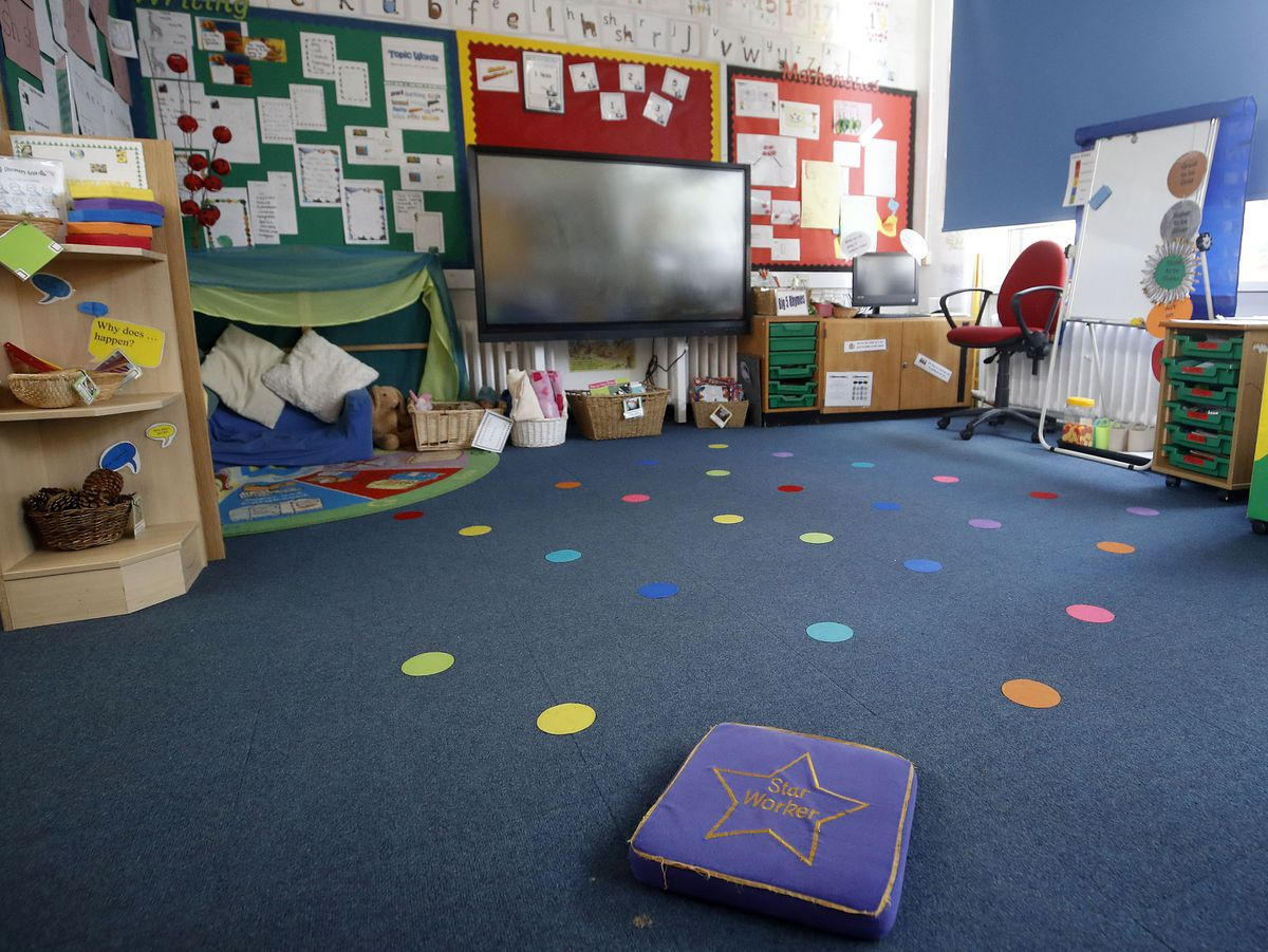 Empty classrooms at the primary schools and nurseries could soon be busy with more pupils