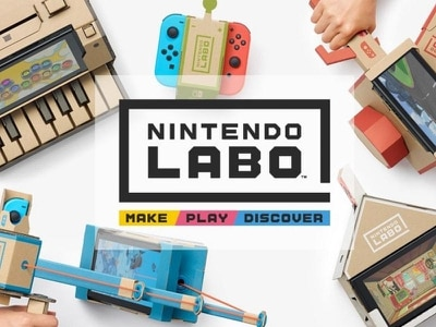 Nintendo's cardboard Labo gaming kits launch in the UK
