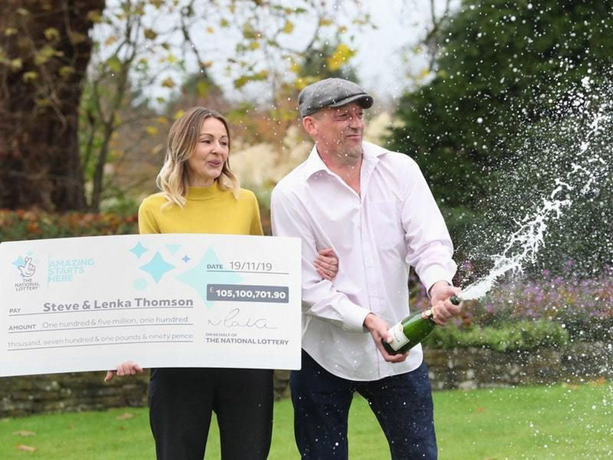 Winners – Steve and Lenka Thomson