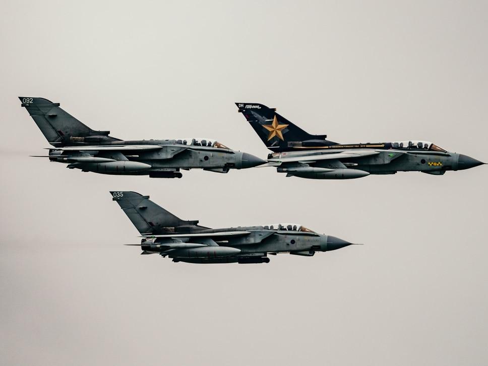 GALLERY: Eyes to the sky as RAF Tornados roar over region in finale tour