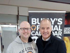 Alan Stuart with Steve Bull