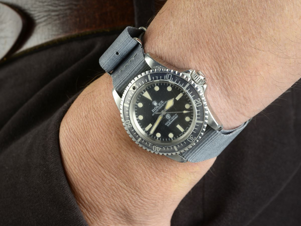 The Rolex Military Submariner. Photo: Fellows Auctioneers