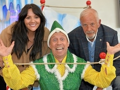 David Essex and Martine McCutcheon launch panto at Arena Birmingham